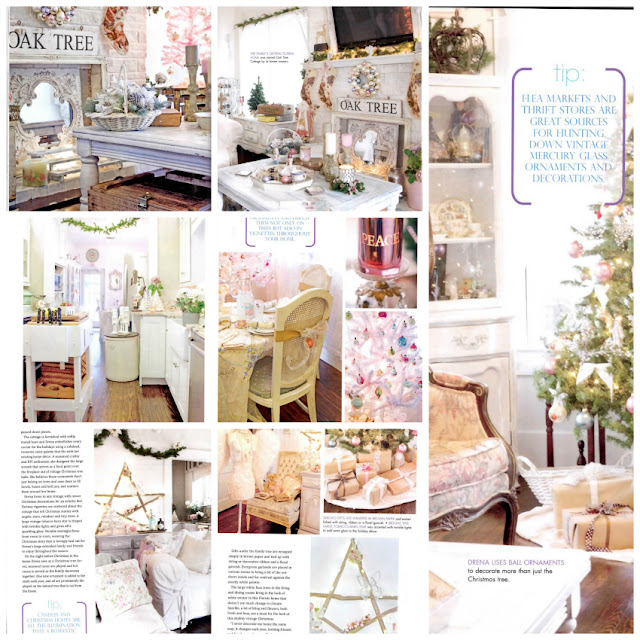 romantic decorating looks for Christmas - published holiday designs