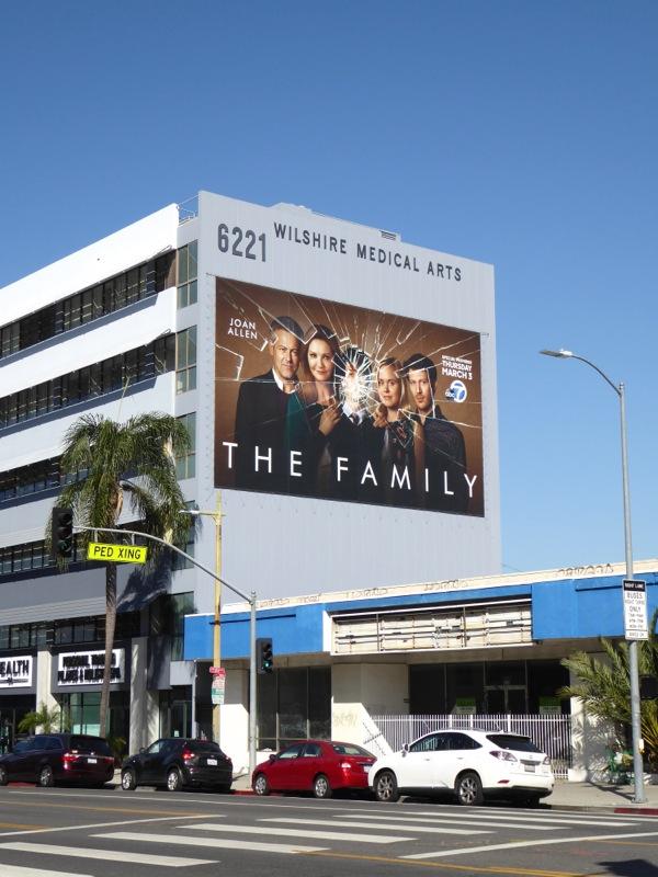 The Family series premiere billboard
