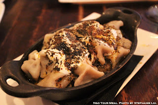 Manti: Turkish Beef Dumplings with Yogurt, Butter, Dry Herbs at Balzem