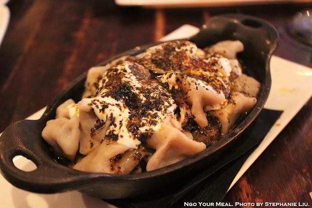 Manti: Turkish Beef Dumplings with Yogurt, Butter, Dry Herbs at Balzem