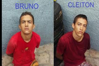 Em Frei Martinho, operação conjunta da PM do RN/PB prende irmãos suspeitos de vários crimes