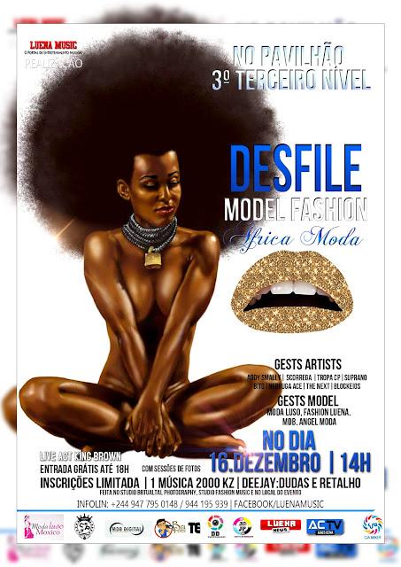 DESFILE Model Fashion (África Moda) Sáb.16.Dezembro.2017