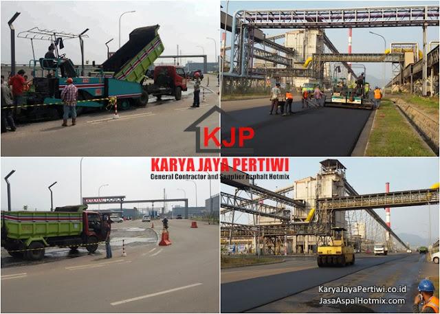 Jasa Pengaspalan Jalan Cilegon, Jasa Aspal Hotmix Cilegon Banten, Kontraktor pengaspalan cilegon