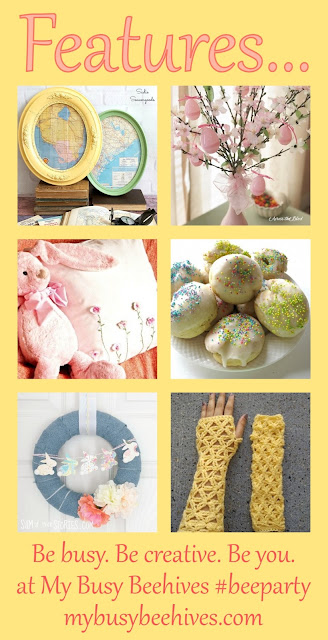 My Busy Beehive's #beeparty #8. Features.
