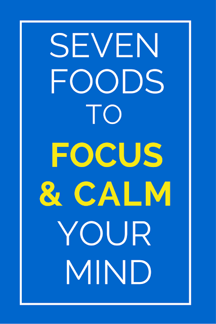 What you put on your plate can really impact how your brain functions and your level of productivity as well as keep you healthy all around. Click here for 7 foods to help you think better, work faster and be more focused. TheHealthMinded.com #health #brain