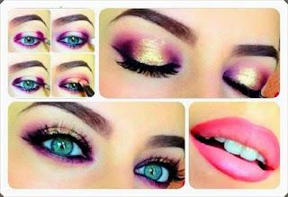 Çeşitli Göz Makyajı Yapım Örnekleri 9