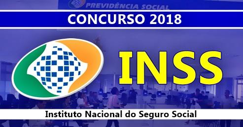 concurso INSS 2018 - Analista e Técnico do Seguro Social