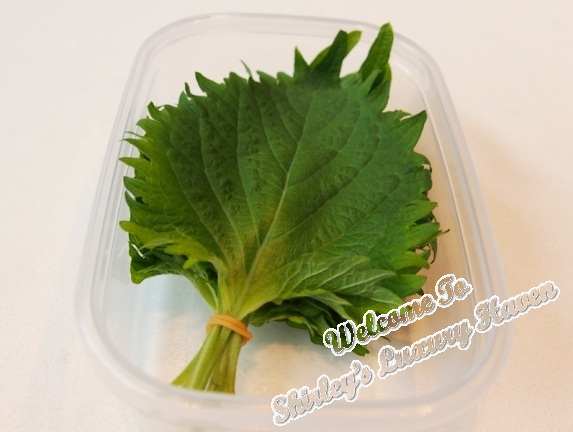 shiso leave recipe
