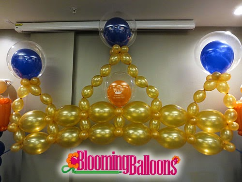 Blooming Balloons Welcome Little Prince Baby Shower