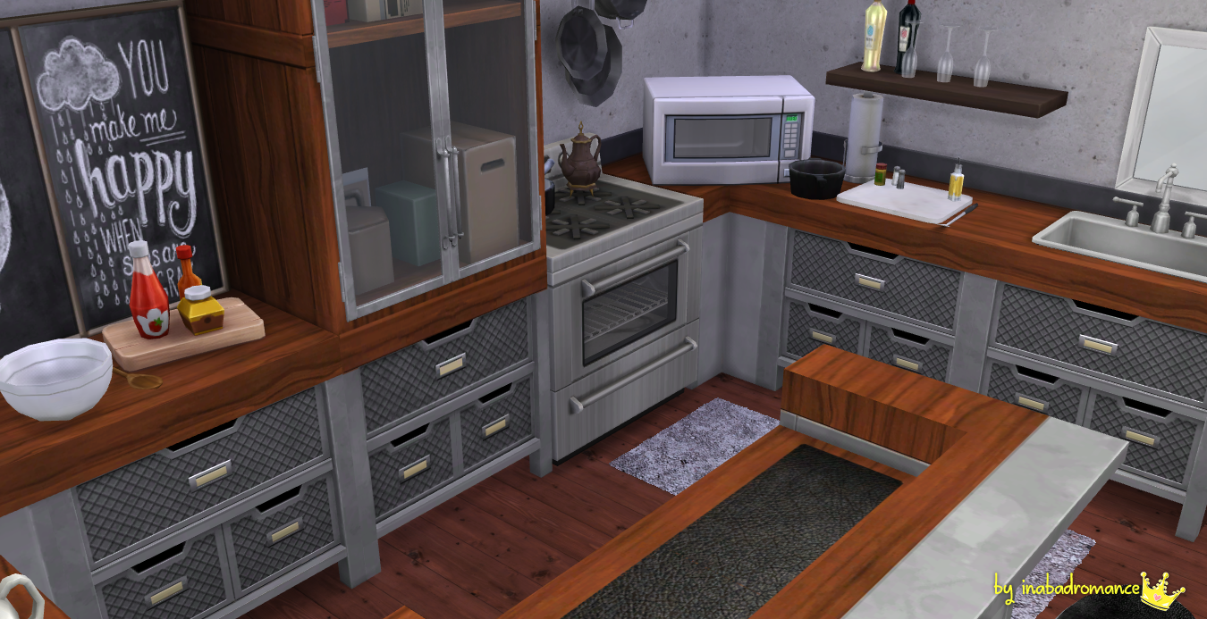 sims 2 kitchen cabinets in a bad by peralta inabadromance recolors 26141