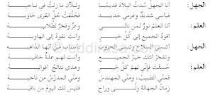 تحضير درس الحجاج 1 في اللغة العربية للسنة الثالثة متوسط الجيل الثاني