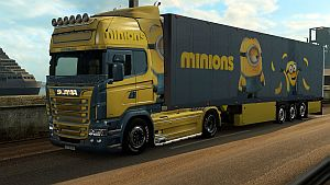 Minions pack for Scania RJL