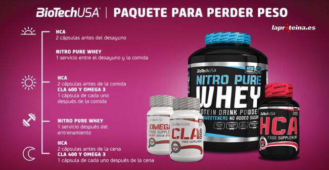Una dieta de proteina para perder peso rapido poblacin espaola