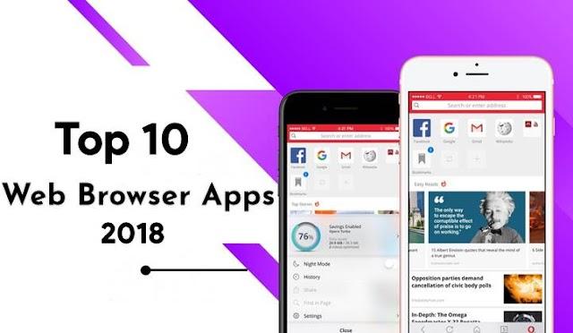 Android Mobile Ke liye 10 Best Browser Apps 2018