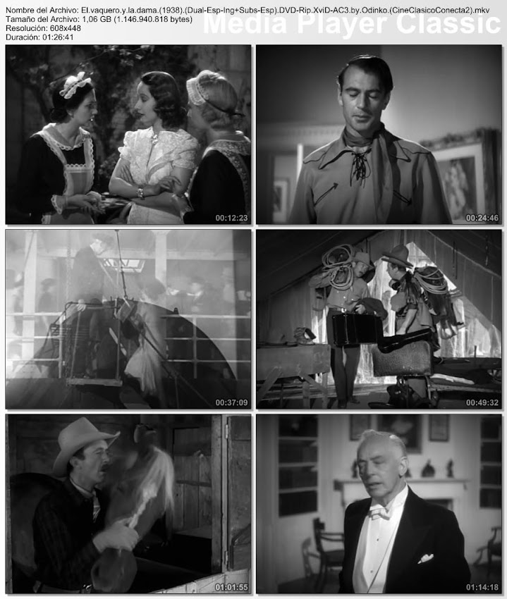 Imágenes de la película: El Vaquero y la Dama | 1938 | The Cowboy and the Lady
