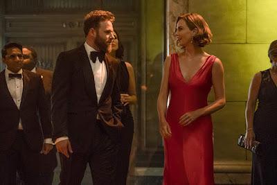 Long Shot 2019 movie still Charlize Theron Seth Rogen