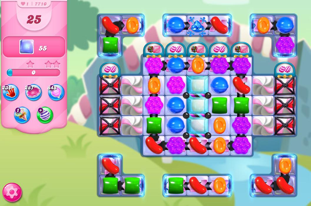 Candy Crush Saga level 7710