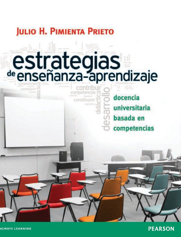 Estrategias de enseñanza-aprendizaje – Julio H. Pimienta Prieto