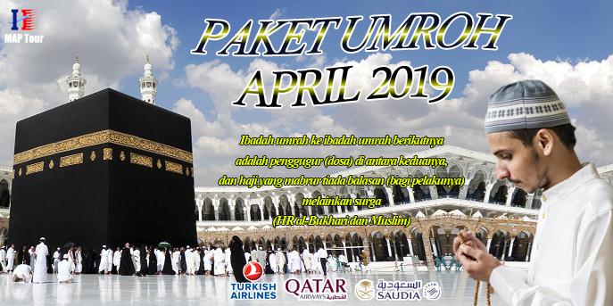 Banner Umroh Reguler April MAP Tour