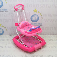 Baby Walker Family FB2017LD Car Melody Rocker