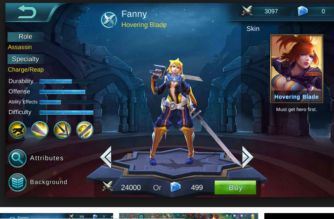 Cara Main dan Tips Trik Hero Fanny MOBILE LEGENDS