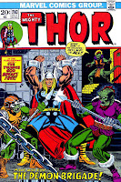 Thor v1 #213 marvel comic book cover art by Jim Starlin