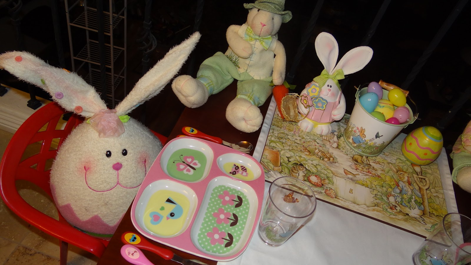 Pattie S Place Easter Decorations And Pottery Barn Kiddie