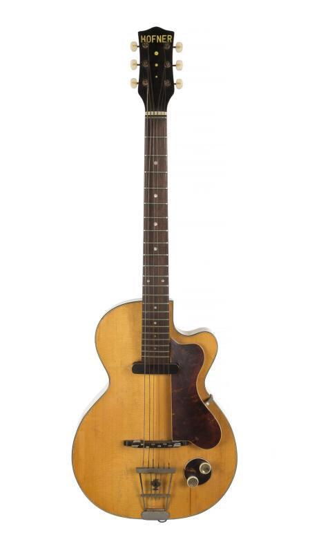 ジョージ・ハリスンの初めてのエレキギター約4800万円で落札
