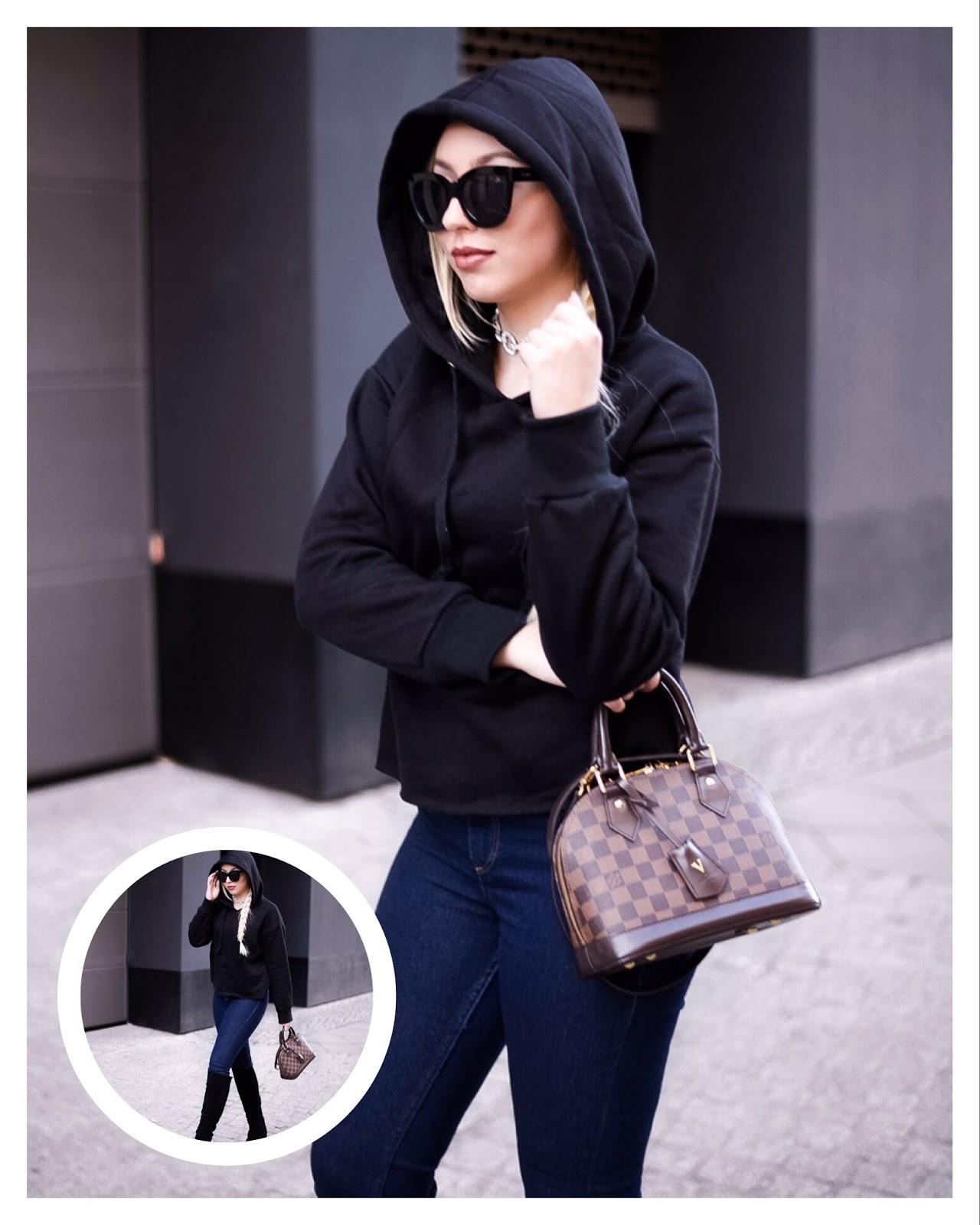 black hoodie, hoodie trend