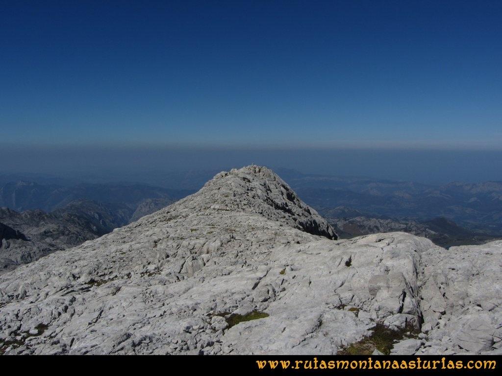 Ruta Ercina, Verdilluenga, Punta Gregoriana, Cabrones: Llegando a la Punta Gregoriana