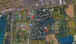 Condominio Centrale San Felice dal satellite