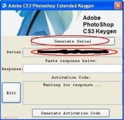 keygen adobe photoshop cs3