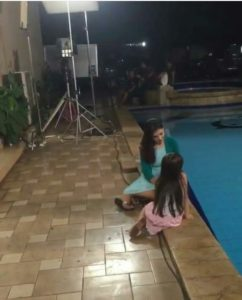 Foto Sineteron Syuting Anugerah Cinta