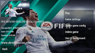 PES CHELITO Mod FIFA 18 by Dian Mallow PSP Android