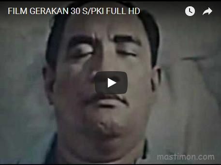 Vidio Film G30S PKI Full HD (Donlowad dan Nonton Streaming)