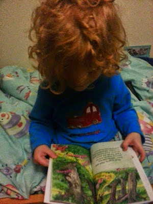 The Boy Who Made Things Up Early Reader book review