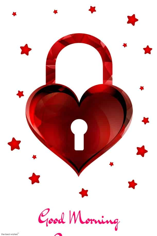 heart lock image
