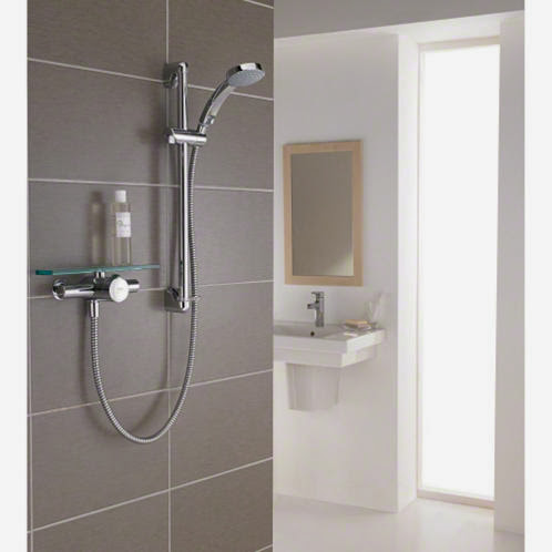 simple bathroom shower