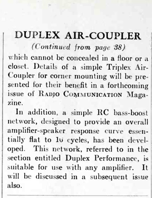 1951 Duplex Air-Coupler Part 1