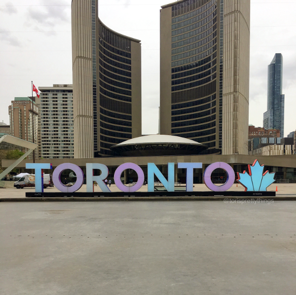 Toronto Sign - Toronto, Ontario - Tori's Pretty Things Blog