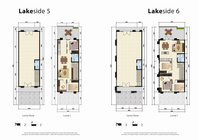 Layout Vanya Lakeside