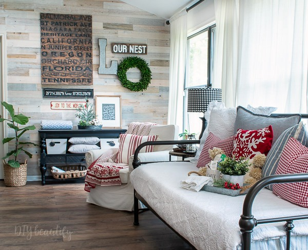 cozy holiday guest space