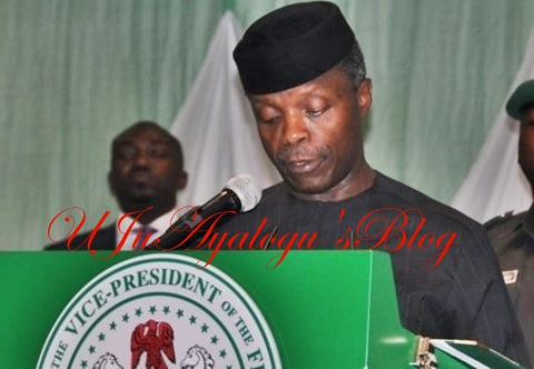 BREAKING News: Acting President, Osinbajo to Sign 2017 Budget at 3pm