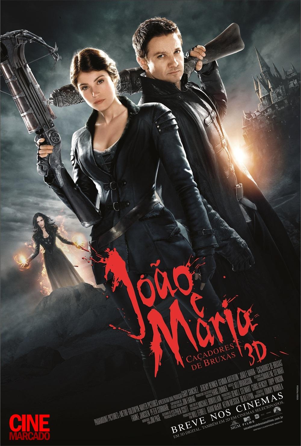 Assistir João e Maria Caçadores de Bruxas Online Dublado