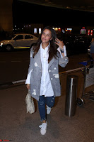 Neha Dhupia in Shirt Denim Spotted at Airport IMG 3528.JPG