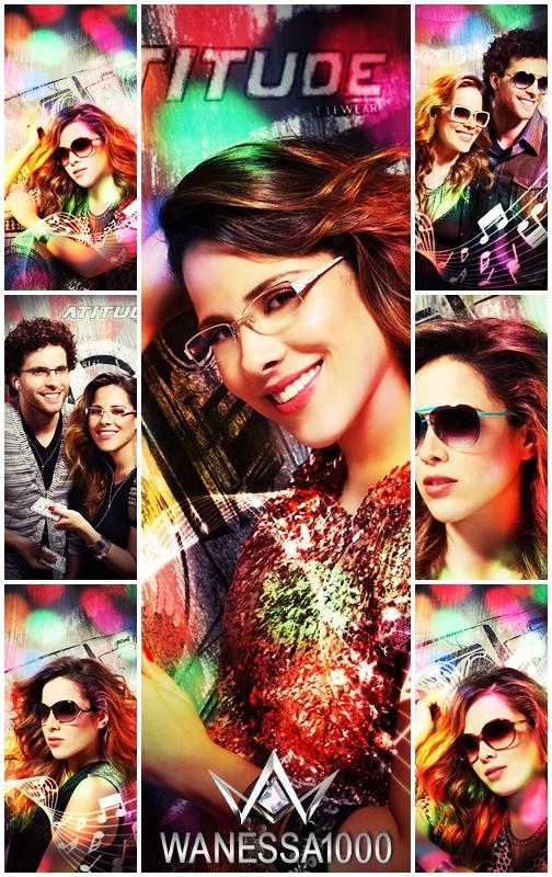 Em clima de balada, Wanessa estrela campanha de óculos   Wanessa on life f669345031