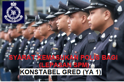Syarat Kemasukan Polis Konstebel Bagi Lepasan Sijil Pelajaran Malaysia Spm Sumbermalaysia