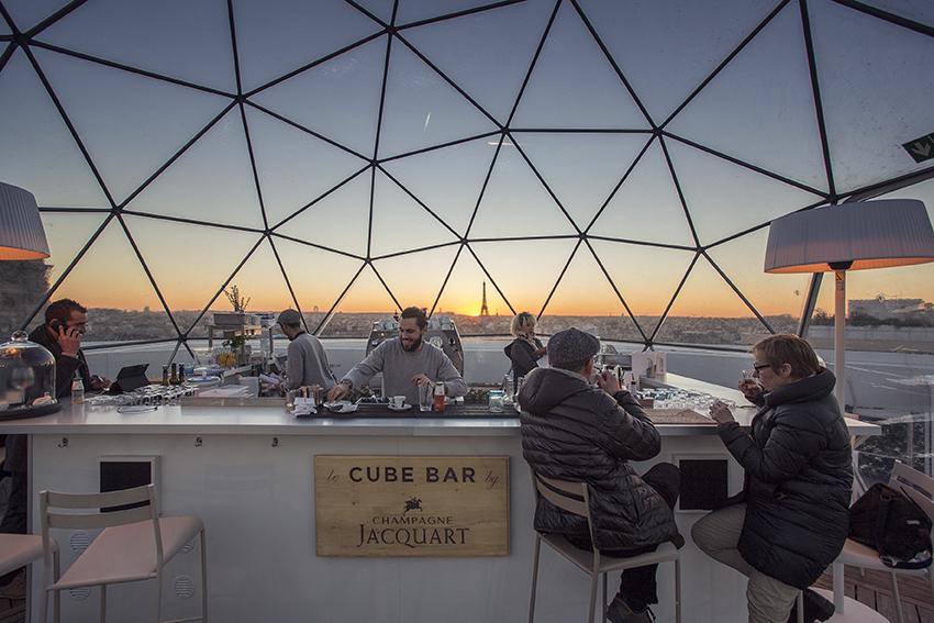 Hidden Corners Series – Le Cube Bar, Paris