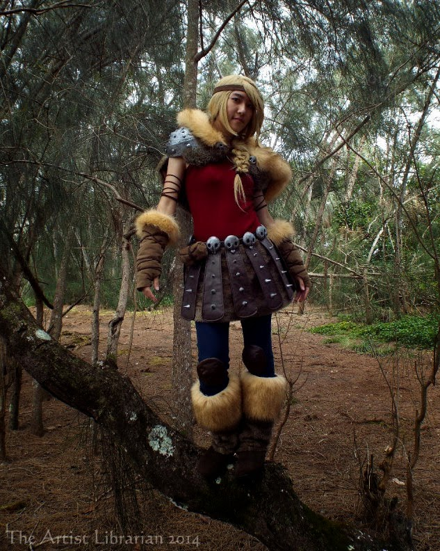 Httyd2 astrid hofferson costume breakdown the artist librarian the artist librarians astrid hofferson costume from how to train your dragon 2 ccuart Image collections
