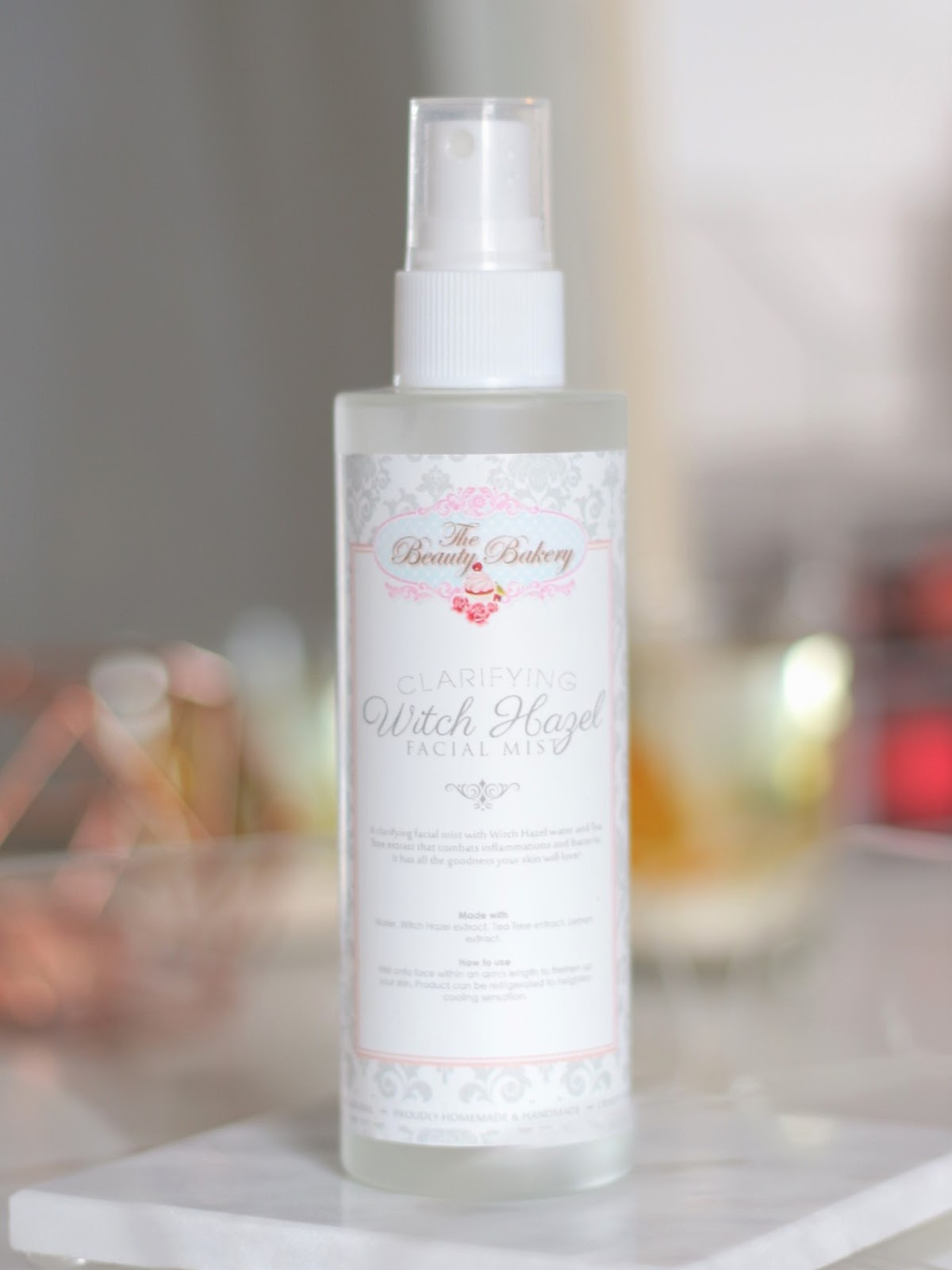 Beauty Bakery Facial Mist Review, Beauty Bakery Witch Hazel Facial Mist Review